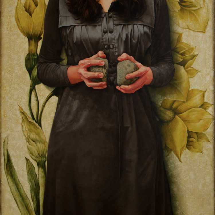 150 . 100 cm , oil and acrylic on canvas