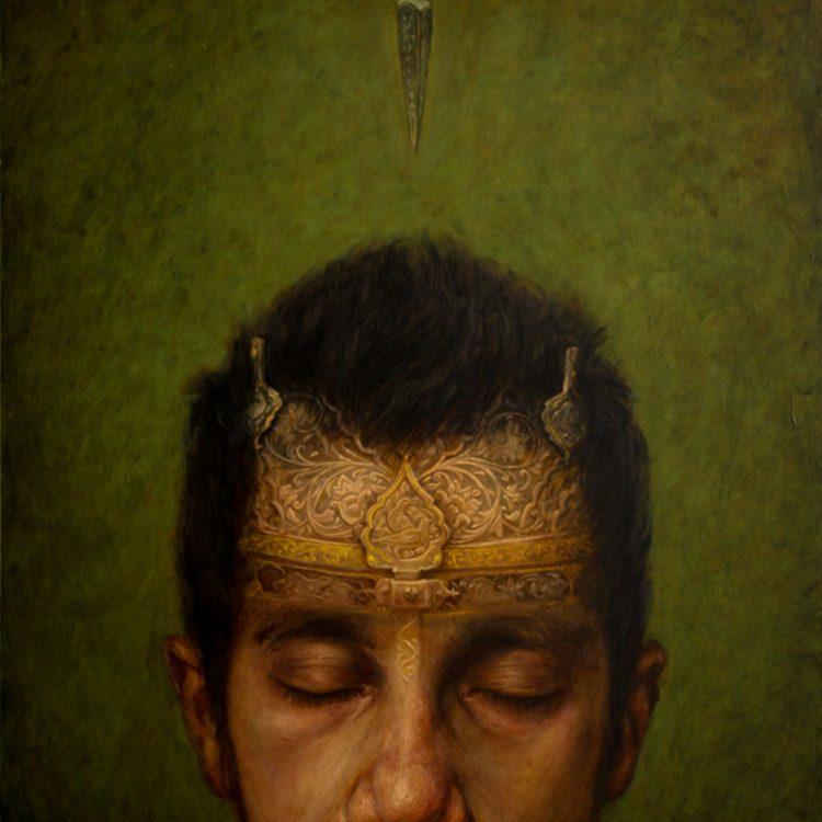 120 . 100 cm , oil and acrylic on canvas
