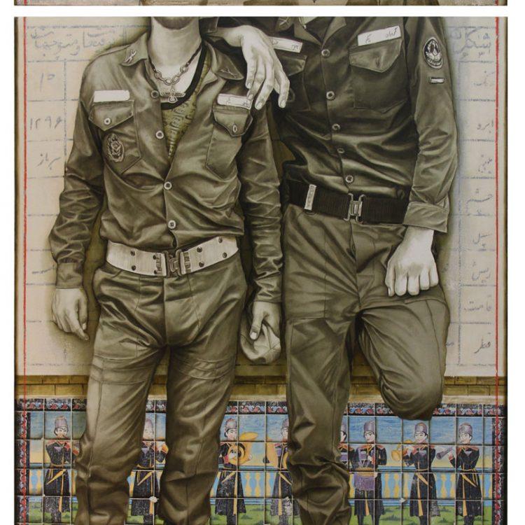180 . 100 cm , oil and acrylic on canvas