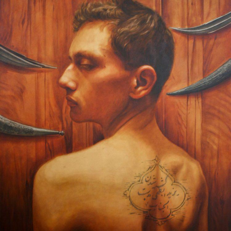 170 . 140 cm , oil and acrylic on canvas