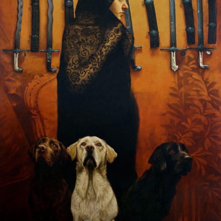 170 x 140 cm , oil and acrylic on canvas