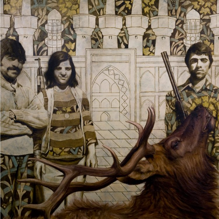 120 . 100 cm , oil on canvas