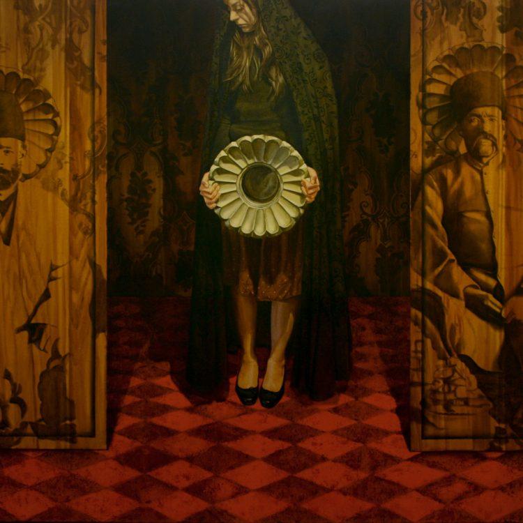 200 . 140 cm , oil and acrylic on canvas